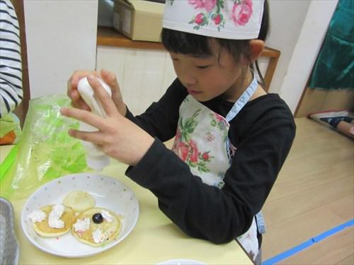 パンケーキ作り♪